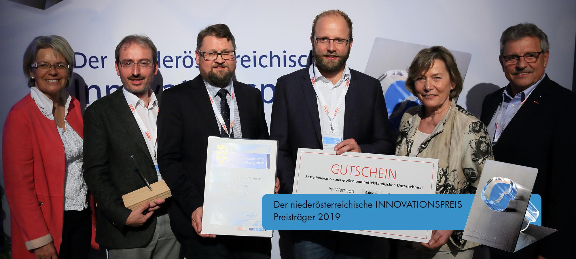 Schmid Schrauben Hainfeld gewinnt den Niederösterreichischen Innovationspreis 2019