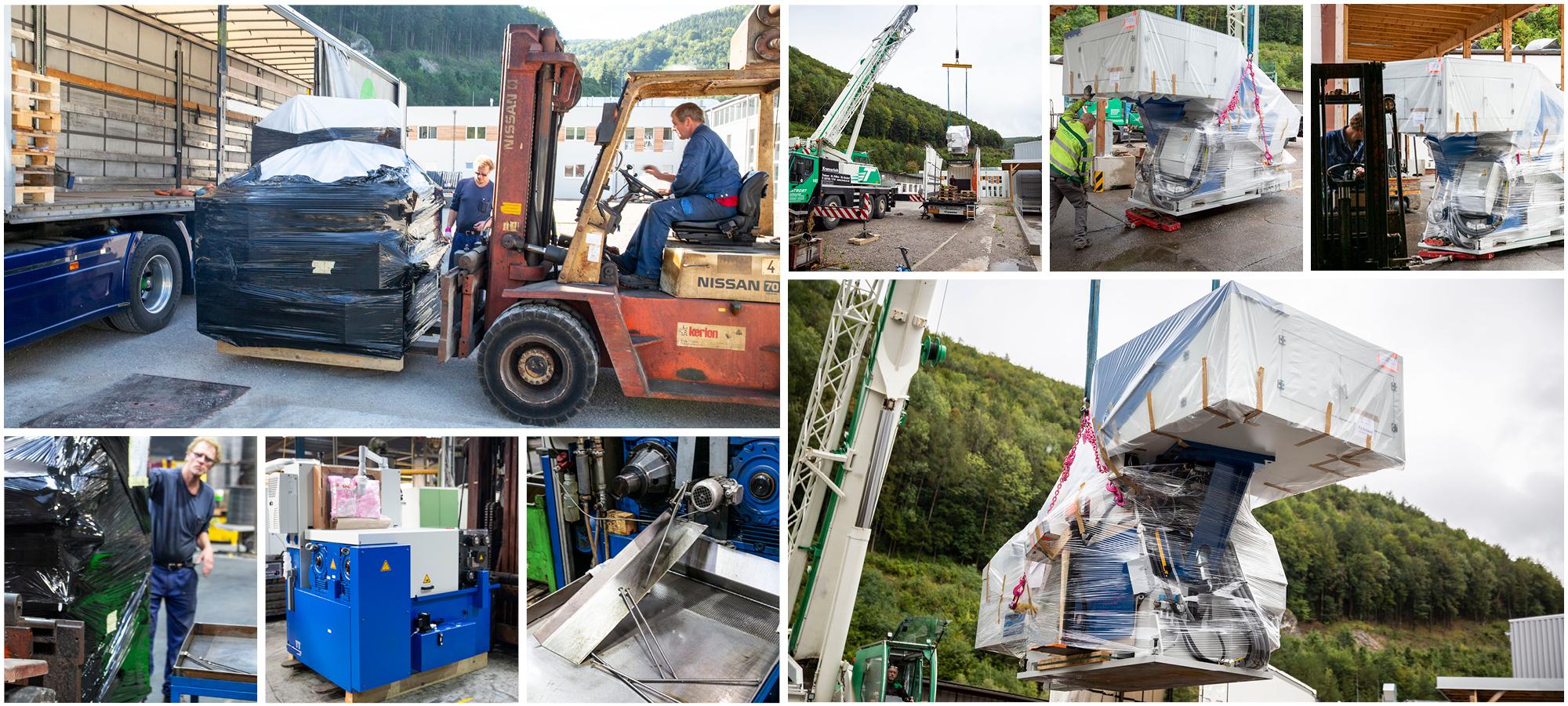 Neue Produktionsmaschinen für Schmid Schrauben